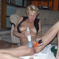 Bring Me The Toys - Blonde Hair, Masturbation, Toys