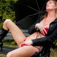 Expecting Rain Today! - Masturbation, Nude Outdoors