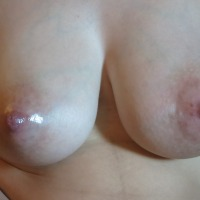 Large tits of my wife - Laura J