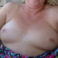 Very small tits of my wife - wife