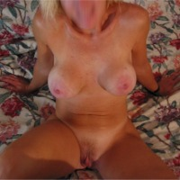 Large tits of my wife - J