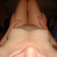 Very small tits of my wife - little T