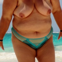 Very large tits of my wife - sharon