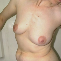 Small tits of my wife - Mary