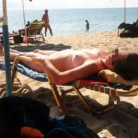 Lady OnThe Beach