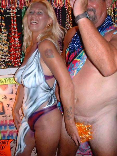 Pic #8 - Fantasy Fest Nude And 2 Beaver Shots