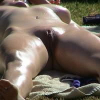 Me Sunbaking Naked!