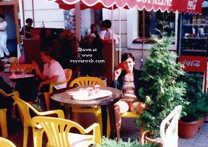 Pic #2 - Vicki in the Street