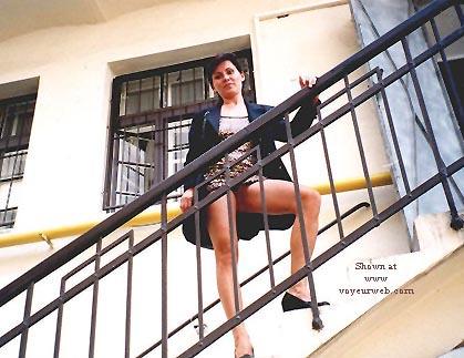 Pic #3 - Vicki in the Street