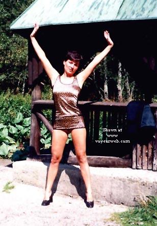 Pic #5 - Vicki in the Street