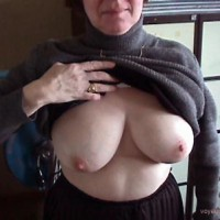 She showed her Tits