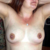 Small tits of my wife - Joanne