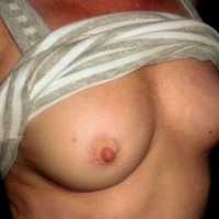 Small tits of my wife - Isabella