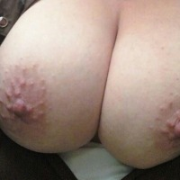 Very large tits of my wife - Hex