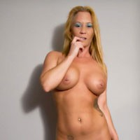 And Then There Was Nothing - Big Tits, Blonde Hair, Heels, Navel Piercing, Pussy Lips, Shaved, Tattoo, Sexy Ass, Sexy Lingerie