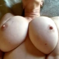 My very large tits - wife