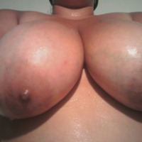 Extremely large tits of my ex-wife - damn