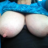 Very large tits of my girlfriend - Catalina
