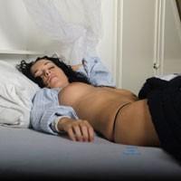 Sleeping Beauty - Big Tits, Brunette Hair, Hard Nipple