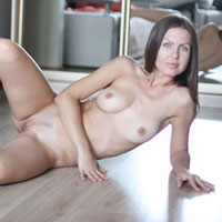 Nicole - Sexy September - Brunette, Lingerie, Beautiful Ass, European And/or Ethnic, Firm Ass, Flashing, Hard Nipples, Medium Tits, Pussy, Shaved