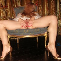 Hot Sexy Legs & Heels - High Heels Amateurs, Long Legs, Masturbation, Toys