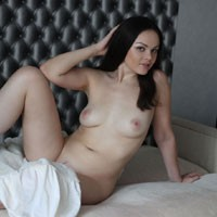 Adri - One Sexy Morning... - Round Tits, Brunette