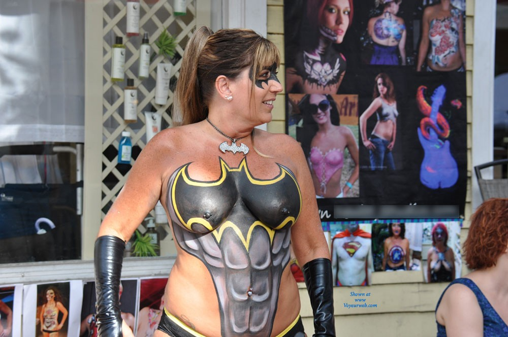 Pic #1 - Fantasy Fest - Costume , Just Returned From Key West For My First Fantasy Fest.  Unbelievable!  Thought I'd Share.
