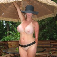 Extremely large tits of my ex-wife - Cheri