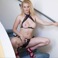Molly's Open House - Big Tits, Blonde Hair, Heels, Milf, Sexy Lingerie