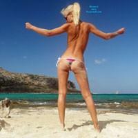 Holiday Photos - Bikini, Blonde Hair