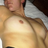 Very small tits of my wife - Sarah