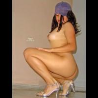 Perfect Skin - Dark Hair, Heels, Long Hair, Long Legs, Round Ass, Naked Girl, Nude Amateur, Sexy Legs