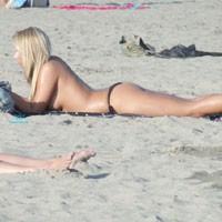 Eye Poppin Beach at Costa del Sol 2013 #2 - Blonde Hair, Beach Voyeur