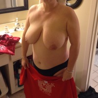 Large tits of my wife - Anny