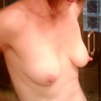 Small tits of my wife