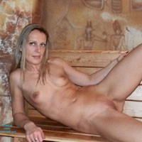 Naked At The Pharaoh's Shadow - Blonde Hair, Firm Tits, Indoors, Natural Tits, Nipples, Shaved Pussy, Small Breasts, Small Tits, Hot Girl, Naked Girl, Sexy Body, Sexy Face, Sexy Feet, Sexy Figure, Sexy Girl, Sexy Legs, Sexy Woman