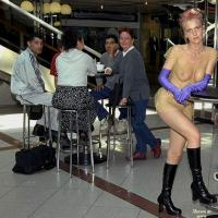 Naked Resto Visit - Exposed In Public, Nude In Public
