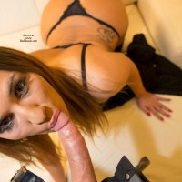 Sucking Hard A Cock - Bra, Close Up, Heels, Red Hair, Redhead, Hot Girl, Sexy Ass, Sexy Body, Sexy Face, Sexy Figure, Sexy Girl, Sexy Lingerie, Sexy Panties, Blowjob