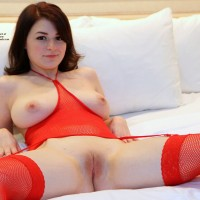Getting Ready On Bed - Bed, Brunette Hair, Firm Tits, Hard Nipple, Nipples, No Panties, Perfect Tits, Shaved Pussy, Showing Tits, Spread Legs, Hot Girl, Sexy Ass, Sexy Body, Sexy Boobs, Sexy Face, Sexy Figure, Sexy Girl, Sexy Legs, Sexy Lingerie, Sexy Woman, Young Woman