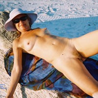 Relaxing Naked At The Beach - Big Tits, Exposed In Public, Full Nude, Hairy Bush, Hairy Pussy, Naked Outdoors, Nipples, Nude Beach, Nude In Nature, Nude In Public, Showing Tits, Sunglasses, Beach Pussy, Beach Tits, Beach Voyeur, Naked Girl, Sexy Body, Sexy Girl, Sexy Legs, Sexy Woman