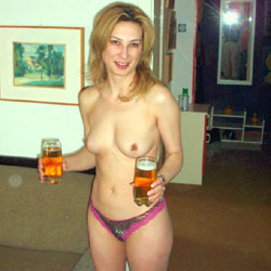 Drinking Beer Topless - Big Tits, Blonde Hair, Erect Nipples, Firm Tits, Hard Nipple, Indoors, Nipples, Perfect Tits, Showing Tits, Topless Girl, Topless, Sexy Body, Sexy Boobs, Sexy Face, Sexy Figure, Sexy Girl, Sexy Legs, Sexy Panties, Sexy Woman