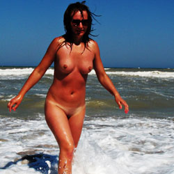 Having Fun In The Water - Big Tits, Brunette Hair, Erect Nipples, Exposed In Public, Firm Tits, Full Nude, Hard Nipple, Naked Outdoors, Nipples, Nude Beach, Nude In Nature, Perfect Tits, Shaved Pussy, Showing Tits, Sunglasses, Beach Pussy, Beach Tits, Beach Voyeur, Hairless Pussy, Naked Girl, Sexy Body, Sexy Boobs, Sexy Figure, Sexy Girl, Sexy Legs, Sexy Woman