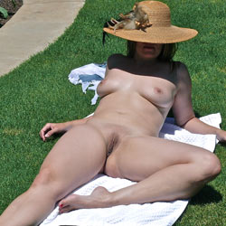 Enjoying The Sun Nakedly - Big Tits, Blonde Hair, Exposed In Public, Full Nude, Hanging Tits, Lying Down, Naked Outdoors, Nude Outdoors, Perfect Tits, Pussy Lips, Shaved Pussy, Hairless Pussy, Hot Girl, Naked Girl, Sexy Body, Sexy Boobs, Sexy Feet, Sexy Figure, Sexy Girl, Sexy Legs, Sexy Woman, Wife/Wives