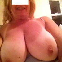 Very large tits of my girlfriend - Carrie