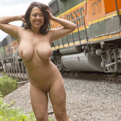 Poses At Train Flashing - Big Tits, Brunette Hair, Exposed In Public, Flashing, Full Nude, Hanging Tits, Huge Tits, Large Breasts, Naked Outdoors, Perfect Tits, Shaved Pussy, Showing Tits, Hairless Pussy, Hot Girl, Naked Girl, Sexy Body, Sexy Boobs, Sexy Face, Sexy Figure, Sexy Girl, Sexy Legs, Sexy Woman