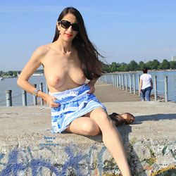 Big Tits Bella At The Pier - Big Tits, Brunette Hair, Exposed In Public, Firm Tits, Flashing Tits, Flashing, Hanging Tits, Huge Tits, Nude Outdoors, Perfect Tits, Showing Tits, Skirt, Sunglasses, Hot Girl, Sexy Body, Sexy Boobs, Sexy Face, Sexy Girl, Sexy Legs, Sexy Woman