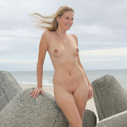 Smiling Blonde At The Beach - Blonde Hair, Erect Nipples, Exposed In Public, Firm Tits, Full Nude, Naked Outdoors, Nude Beach, Perfect Tits, Shaved Pussy, Beach Voyeur, Hairless Pussy, Naked Girl, Sexy Body, Sexy Boobs, Sexy Figure, Sexy Girl, Sexy Legs, Sexy Woman, Young Woman