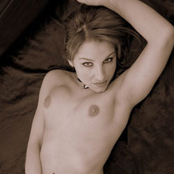 Touching Her Yummy Pussy - Erect Nipples, Firm Tits, Lying Down, Nipples, Showing Tits, Stockings, Touching Pussy, Hot Girl, Naked Girl, Sexy Body, Sexy Boobs, Sexy Face, Sexy Figure, Sexy Girl, Sexy Legs, Sexy Woman, Young Woman