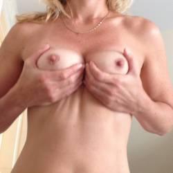 Medium tits of my wife - MILFWife