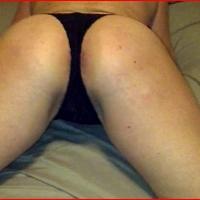 My ass - Blonde Wife